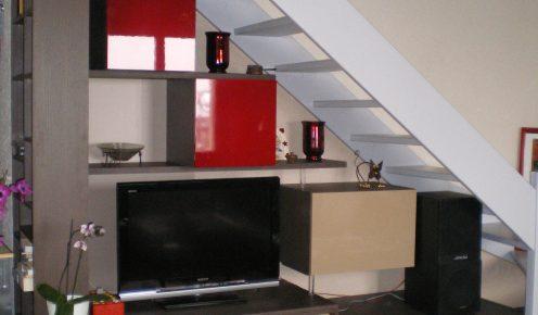 am nagement soupentes sous escaliers et combles prodesign les pros du placard. Black Bedroom Furniture Sets. Home Design Ideas